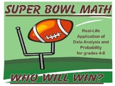 Super Bowl Math Unit