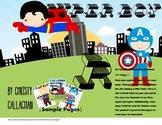 Super Boy: Pre-Vocalic R Articulation Mini-Book
