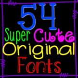 Super Cute Fonts (with commercial license)