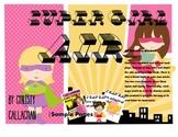 """Super Girl: """"AIR"""" Articulation Mini-Book"""