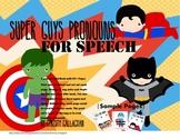 Super Guys Pronouns Mini Book
