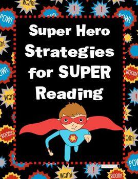Super Hero Reading Strategies