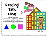 Super Hero-Themed Reading Task Cards