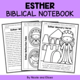 Queen Esther Bible Unit (text, memory verse & activities)