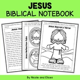 Jesus Bible Unit (text, memory verse & activities)