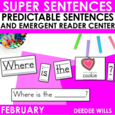 Super Sentences: Predictable Sentences February Edition