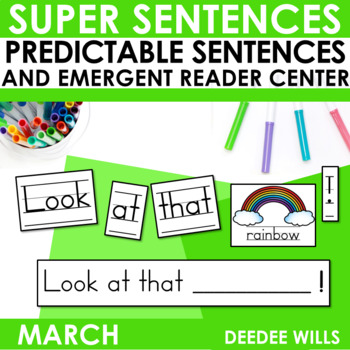 Super Sentences: Predictable Sentences March Edition