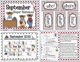 Super Sentences for the Entire School Year - 10 Month Pack