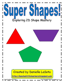 Super Shapes:  Exploring 2D Shapes