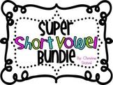 Super Short Vowel Bundle {Word Work Activities}
