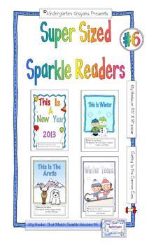 Super Sized Sparkle Readers (Set #6)