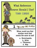 Super Sleuth Reference Sources Task Cards
