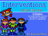 Intervention: Super Speed to the Rescue for ELA or Math