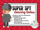 Super Spy Learning Centers (Detective and/or Spy Themed Centers)