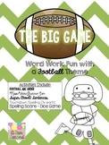 Superbowl The Big Game Football Word Work & Spelling Activities