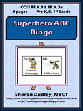 Superhero ABC Bingo