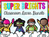 Superhero Bright Classroom Decor