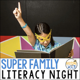 Superhero Family Literacy Night
