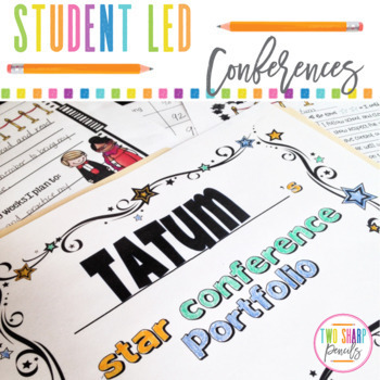 Superstar Student Led Conference Pack (Editable!)