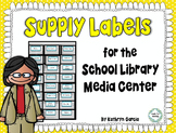 Supply Labels for the School Library Media Center