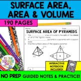 Surface Area, Volume and Area Bundle- Engaging activities