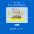 Survival Kit for Casual Teachers sample pages