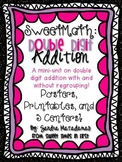 Sweet Math: Double Digit Addition {Printables, 5 Centers,