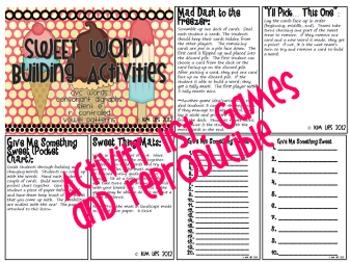 Sweet Word Building Set