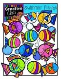 Swimmin Fishies {Creative Clips Digital Clipart}