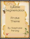 Syllable Segmentation- Pirate Theme