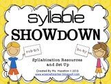 Syllable Showdown [Syllabication Overview and Resources] C