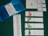Syllables Literacy Center Classroom Resource tool- Hard good