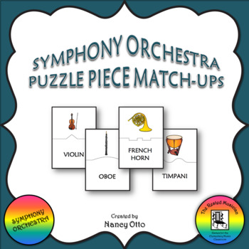 Symphony Orchestra Puzzle Piece Match-Ups
