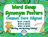 Synonyms Posters ~ Writing Center Posters & Printables ~ M