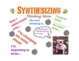 Synthesizing Poster with Writing Activity