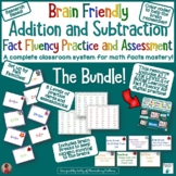Brain Friendly Addition and Subtraction Fact Practice and