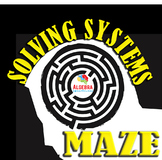 Systems of Equations Fun Activity Maze Game Algebra