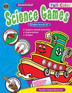 Full-Color Science Games, PreK-K (Enhanced eBook)