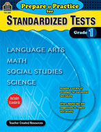 Prepare and Practice for Standardized Tests: Grade 1 (Enha