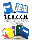 T.E.A.C.C.H. File Folder Matching Bundle- For Children wit