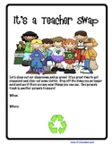 TEACHER SWAP POSTER / FLYER