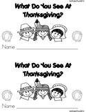 THANKSGIVING EMERGENT READER **  GREATFOR READ TO SELFGREAT FOR