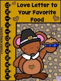 THANKSGIVING Love Letter to Your Favorite Food (Descriptiv