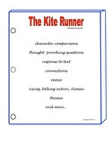 THE KITE RUNNER ACTIVITIES
