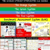 THE LEVELED LITERACY INTERVENTION  BUNDLE AND BENCHMARK AS