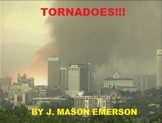 TORNADOES!!!  (SCIENCE READING PACK; FUN WORKSHEETS, ENGLI