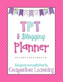 Teachers Pay Teachers Seller Planner - Blogging & Social M