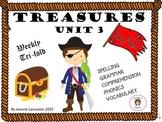 TREASURES Unit 3 Tri fold Second Grade