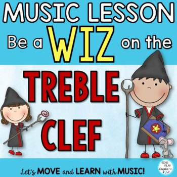 TREBLE CLEF NOTES: NOTE READING *Lesson *Posters *Game *Fl