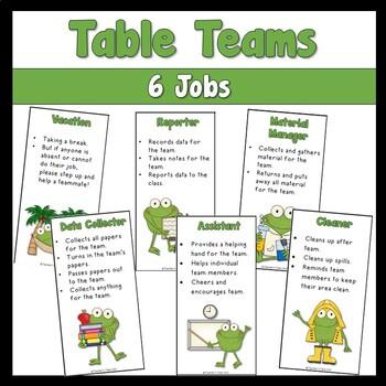 FREE Table Team Jobs
